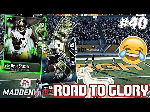 I MADE A MISTAKE I AM SORRY! rtg ep. 40 Madden 18 Ultimate Team Road To Glory