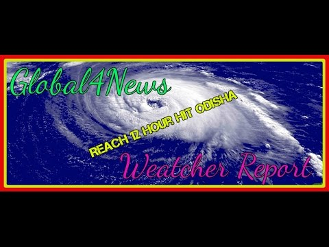 OTV Oriya News Today of Kyant Cyclone Entry 12 hour.
