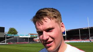 Gloucester Rugby Academy players reaction after the final day of the U18 Six Nations