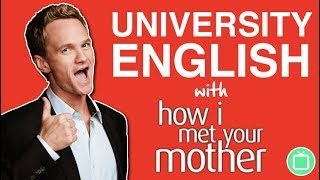 University English | Learn English with How I Met Your Mother - the Cougar