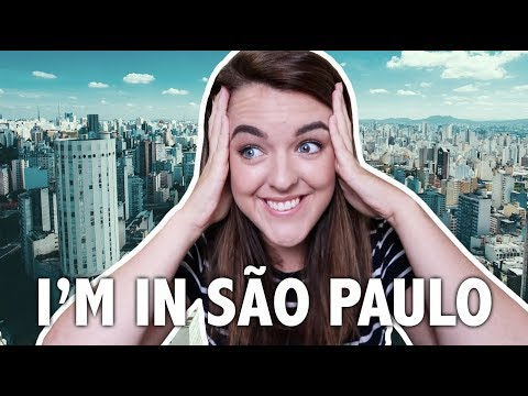 PRIMEIRAS IMPRESSÕES DE UMA IRLANDESA EM SÃO PAULO | All That Jess#97 no Brasil