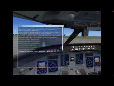 FSX St Lucia-Barbados (with commentary)