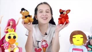 ЛЕРА Знакомство с игрушками UNDERTALE MINECRAFT 5 NIGHTS AT FREDDY'S BARBIE Видео для девочек