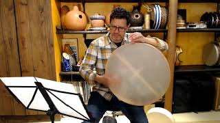 Manhattan Avenue - Frame Drum Solo by Yousif Sheronick