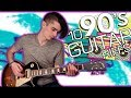 Download 10 Great 90s Guitar Riffs w/ Tabs MP3 song and Music Video