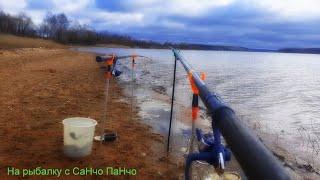 Весенняя рыбалка на Озернинском водохранилище