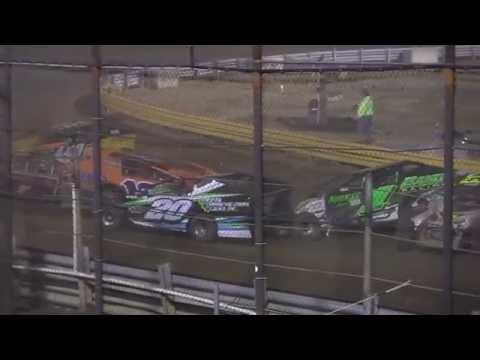 Huge Crate Sportsman Crash at New Egypt Speedway July 2, 2016