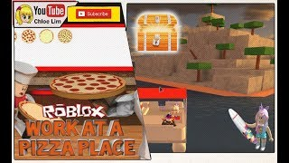 Work at a Pizza Place bringing LucaGamerTv to the Treasure Island to get Treasure   ROBLOX