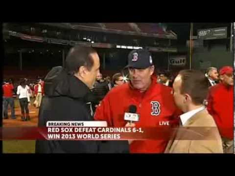 Interview: Red Sox Manager John Farrell