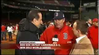 Interview: Red Sox Manager John Farrell