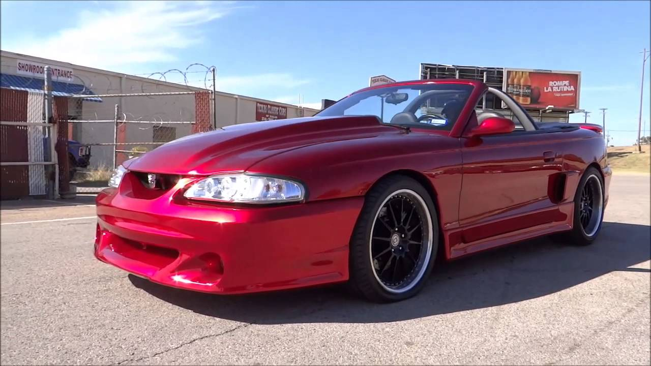 All Types 1995 mustang convertible : 1995 Mustang GT Convertible - YouTube