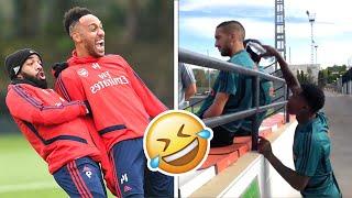 Famous Footballers Vibing and Having Fun!