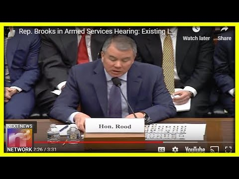 Top Defense Official Testifies Trump Does Not Need Congress to Build Border Wall