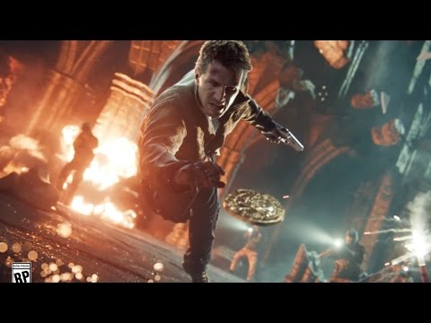 Uncharted 4 A Thiefs End | official slow-motion trailer (2016) Sony Playstation