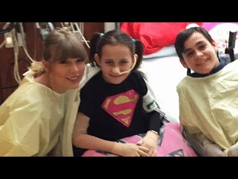 Taylor Swift SURPRISES Foster Kids With Private Concert & Pizza Party