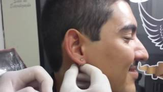 Stretching Ear 0mm to 14mm