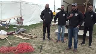 Khudam on Wind up annual Ijtema 2018