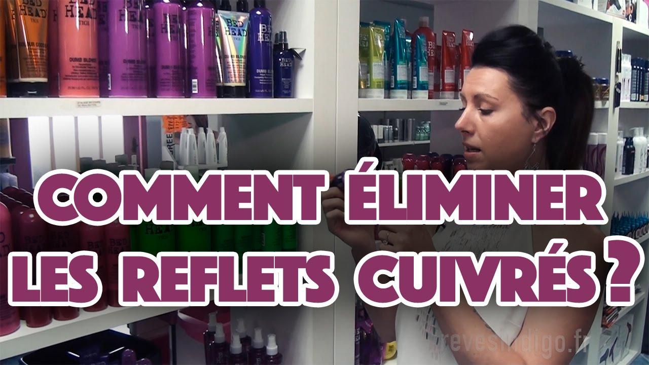Comment enlever la couleur rousse des cheveux