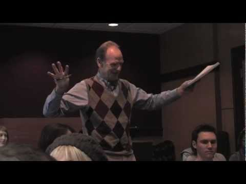 Livingston Taylor Teaching Stage Performance Class At Berklee College Of Music