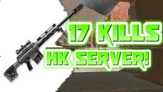 17 kills with 1 ace !! HK server - Pyramid - Warface Ranked Gameplay