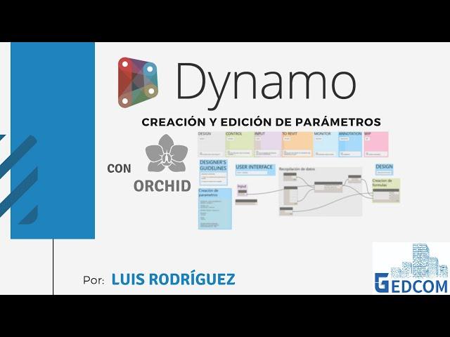 Dynamo para edición de familias | 00 Bienvenida Workshop Dynamo