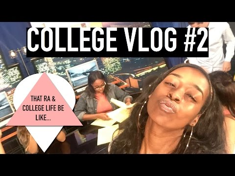 College Vlog #2 | That College & RA Life Be Like...