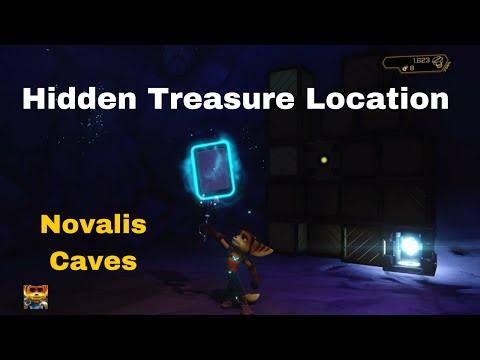 Ratchet & Clank - Hidden Treasure Location in Novalis Caves (Holocard Deck)