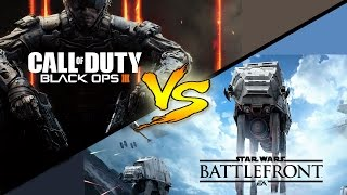 Black Ops 3 VS Star Wars Battlefront (Star Wars Battlefront Gameplay Commentary)
