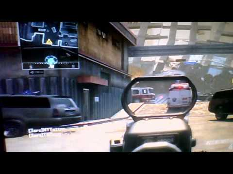 Call of Duty Black Ops 2- Multiplayer Free-for-all 'AFTERMATH' gameplay