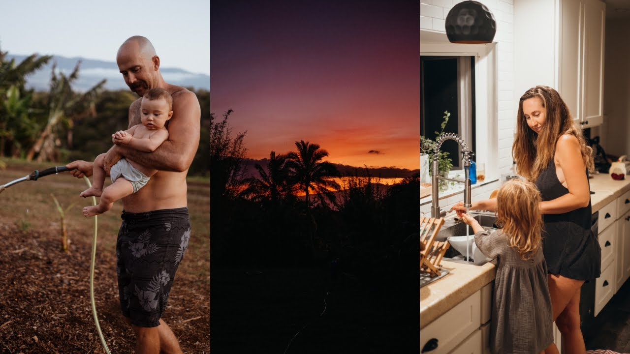 OUR FAMILY NIGHT TIME ROUTINE in Hawaii