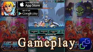 HE-MAN Tappers of Grayskull Android iOS Gameplay
