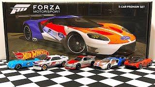 Forza Motorsport Hot Wheels 5-Car Premium Set