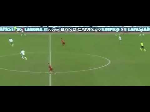 Nicolo Zaniolo Amazing Goal AS Roma vs Sassuolo 3-0  26/12/18