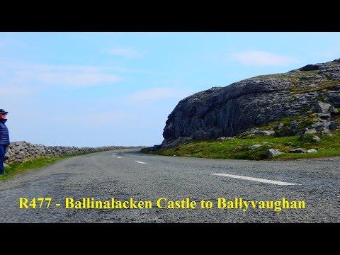 Ireland 2016 - R477 Ballinalacken Castle to Ballyvaughan