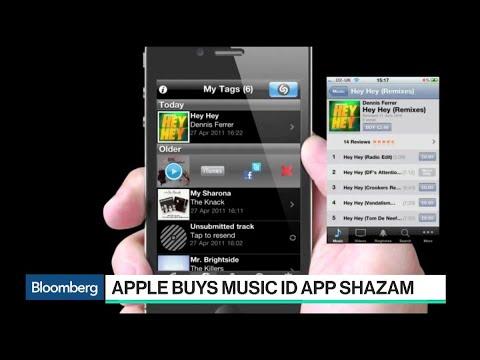 Apple Buys Music-Identification App Shazam
