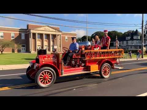 Center Moriches High School 2018 Homecoming Parade Saturday September 29, 2018.