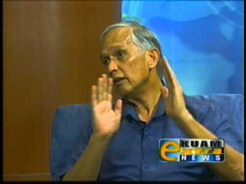Dr. Robert Underwood talks about UOG's 60th anniversary