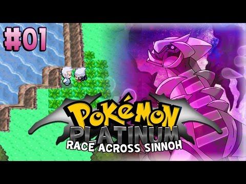 "Pokemon Race Across Sinnoh Episode 1 - ""And so it begins..."" [Pokemon Platinum Nuzlocke Verses]"