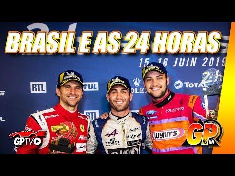 Serra, Fraga e Negrão foram extraordinários em Le Mans | GP às 10