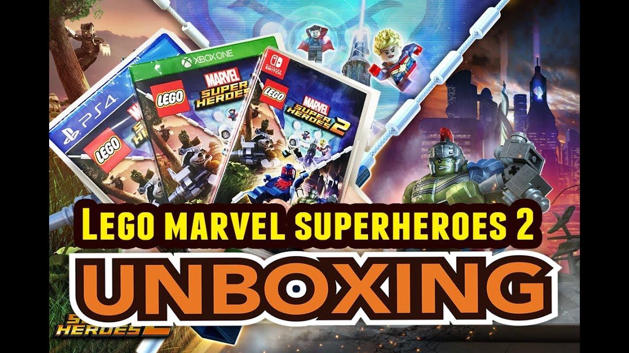 Lego Marvel Superheroes 2 Ps4 Xbox One Switch Unboxing Youtube
