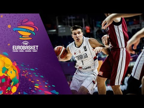Serbia v Latvia - Highlights - FIBA EuroBasket 2017
