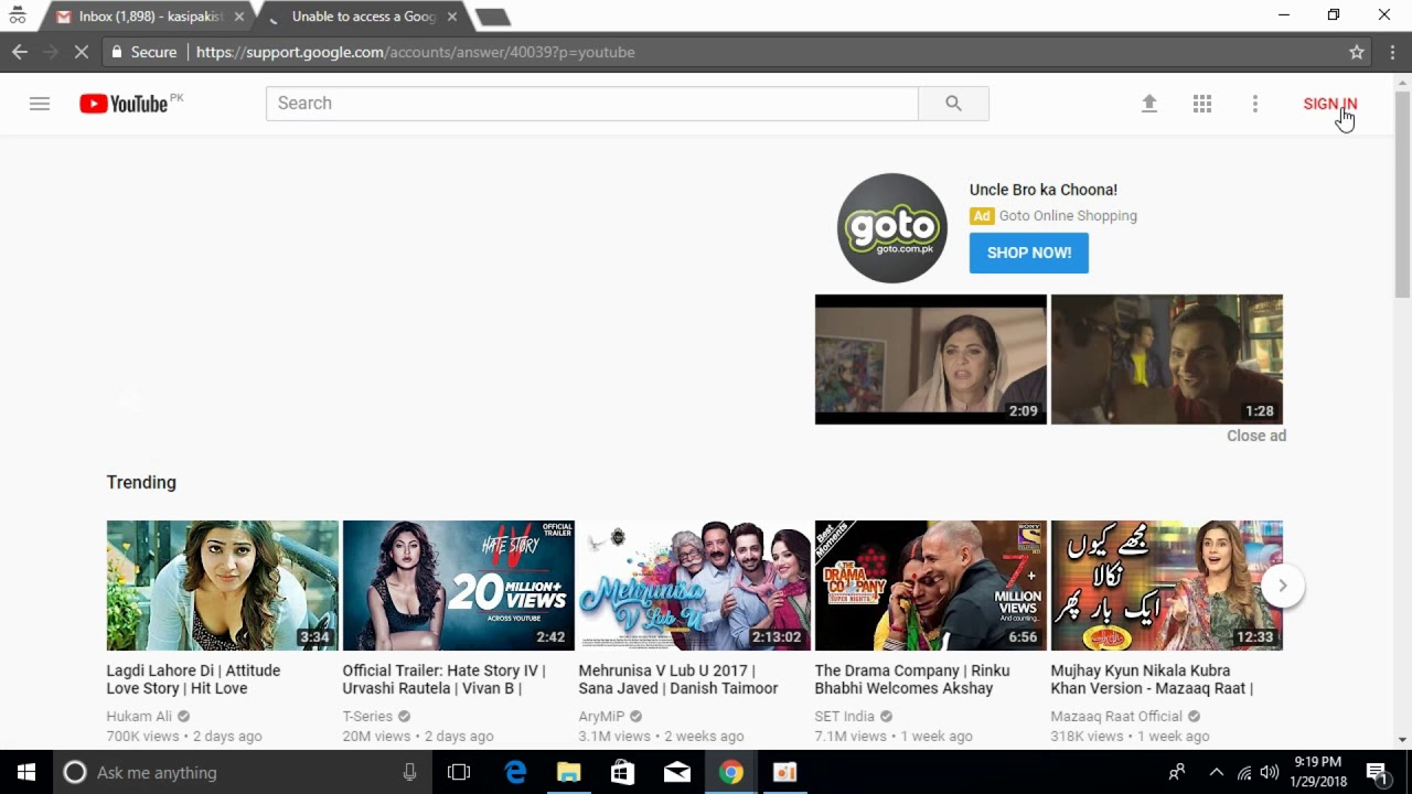 FIX Unable to Access Google Product How to Fix YouTube Channel Suspended  100% Working [UPDATED 2019]