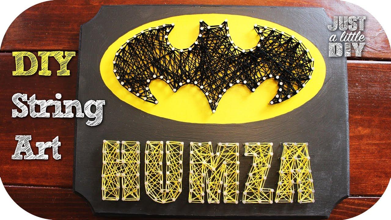 Batman String Art - YouTube