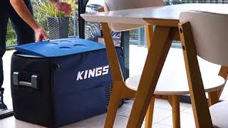 Adventure Kings Fridge/Freezers run with a genuine Secop Compressor - here
