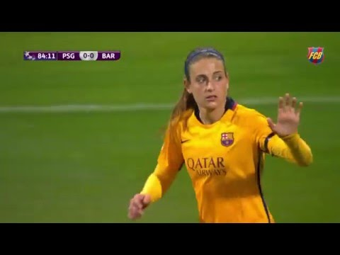 [HIGHLIGHTS] FUTBOL FEM (Uefa Women's Champions): PSG-FC Bar