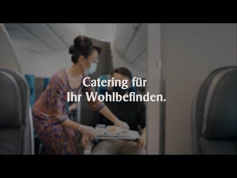 Catering für Ihr Wohlbefinden | Singapore Airlines