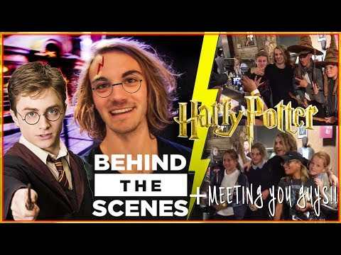 BEHIND THE SCENES OF HARRY POTTER! +THIS HAPPENED AGAIN! 😱❤️