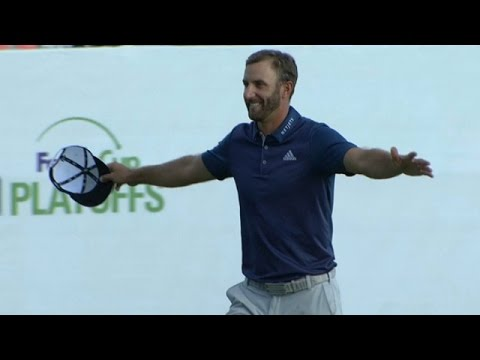 Highlights | Dustin Johnson finishes at 23-under to win BMW Championship