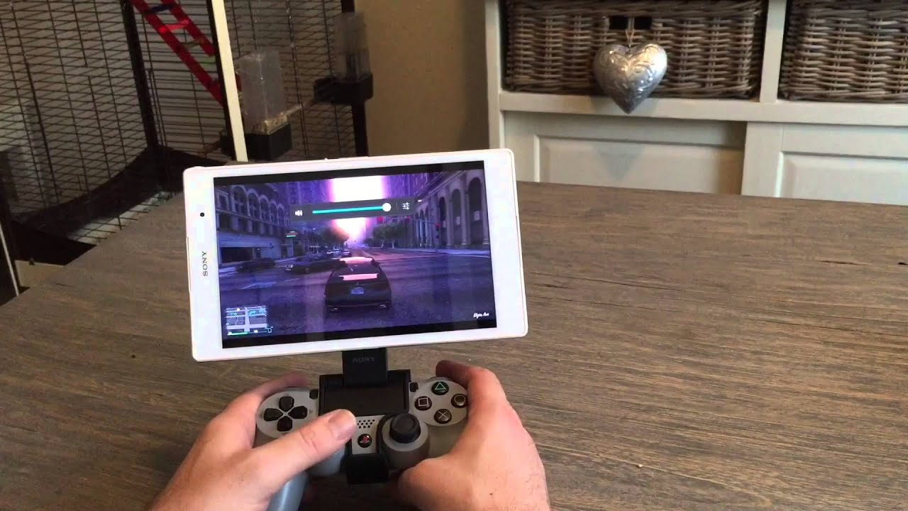 Z3 Compact Tablet Remote Play Gta 5 Ps4 Youtube