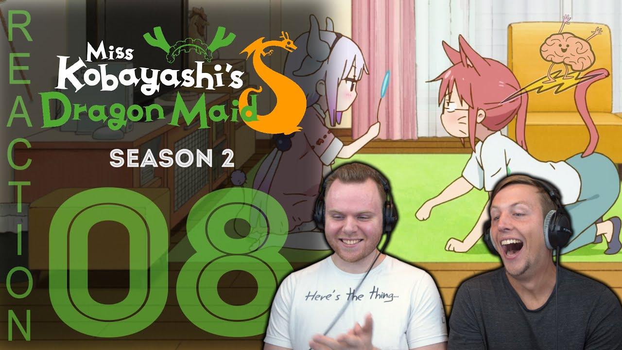 Download SOS Bros Reacts - Kobayashi's Dragon Maid Season 2 Episode 8 - Cat Kobayashi!
